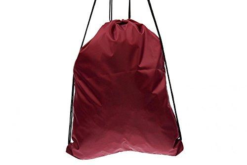 BOY LONDON mochila bolsa unisex con la impresión BLA-06 BURDEOS Bordeaux