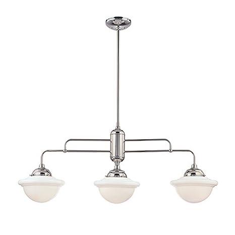 neo industrial 3 light kitchen pendant finish chrome ceiling rh amazon com 3 light kitchen pendant lights 3 light kitchen pendants