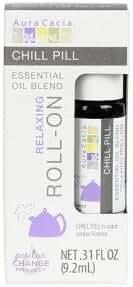 Aura Cacia Roll-On Oil, Chill Pill, 0.31 Fluid Ounce