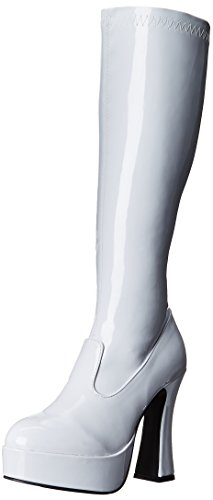 Ellie Shoes Women's Chacha Boot, White, 7 M US]()