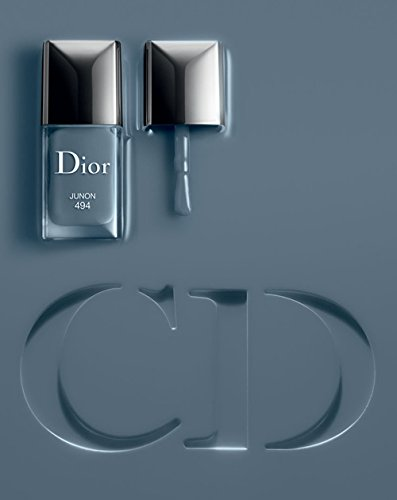 Dior Vernis Gel Shine and Long Wear Nail Lacquer Junon 494 Gray