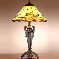 (Dale Tiffany TT101118 Falhouse Table Lamp, 16.0