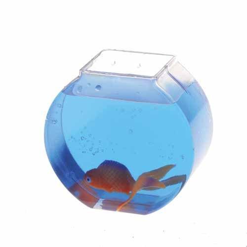 US Toy - Plastic Fish Bowl, 3 3/4 inches tall,12 oz 1 dozen