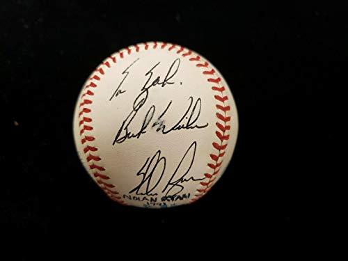 Nolan Ryan Signed Ball - Personalized To Zak AL - Autographed Baseballs