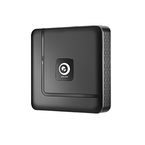 NVR HD 1080P Security System, DIGOO P2P Network Video Recorder, Support 4/8/12 Channels, Onvif 2.5 Protocol IP camera, 1080P/720P/960H, HDMI Output, Motion Detection, Up to 4TB Storage