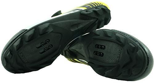 Amarillo Una 17 Carbono Zapatillas Para 0 Alta Y Ciclismo Cierre Precisión Mtb Con De Pro 4mm Suela Sujeción Rotativo Luck HzTXq