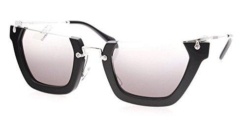 Miu Miu W-SG-3121 MU 12QS 1AB4N2-Black Womens Sunglasses, 50-26-140 - Aviator Miu Miu Sunglasses