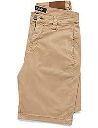 Men's Nevada Mid Rise Classic Twill Shorts