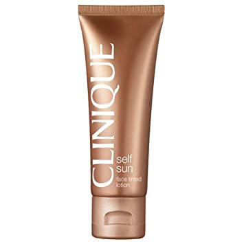 clinique self sun face tinted lotion