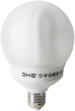 IKEA SPARSAM - Bombilla de bajo consumo E27, globo - 20 W: Amazon ...