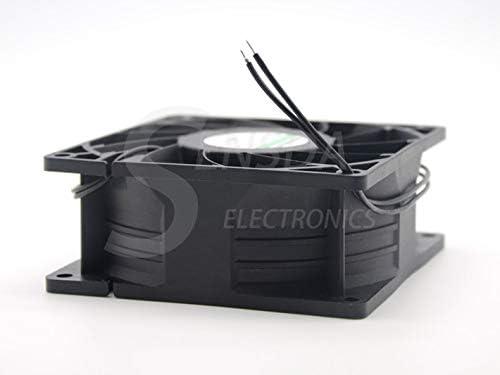 SXDOOL ec fan motor manufacturers 929238 mm 92mm dual voltage 115V 230V 50//60 Hz 7W 3500RPM 79.9CFM case cooling fan