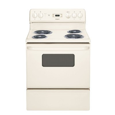 Hotpoint RB526DHCC 30-Inch  5 Cu.Ft. Free-Standing Electric Range, Bisque (Electric Clean Freestanding Ranges Standard)