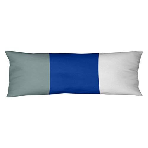 NFS Dallas Football Stripes Body Pillow