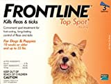 Frontline Top Spot Up to 22-lbs ( yellow), My Pet Supplies