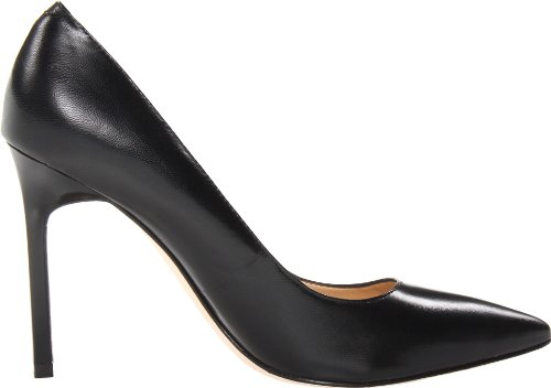 Ivanka Trump Mujeres Carra Dress Pump Black Leather