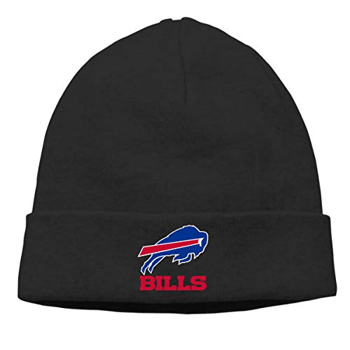 Jeffredy Buffalo Bills American Football Team Knitted Cap Limited Edition Warm Hip-Hop for Men and ()