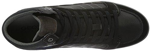 U Schwarz G da Alte Uomo Blackc9999 Ginnastica Box Scarpe Geox HfqwxadH