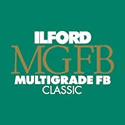 Ilford Multigrade FB Classic Matte Variable Contrast Paper (8 x 10 In., 25 Shee
