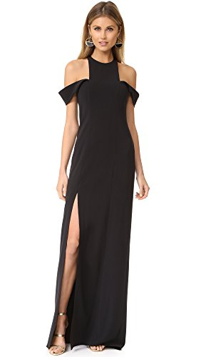 halston-heritage-womens-sleeveless-cold-shoulder-round-neck-crepe-gown-black-4