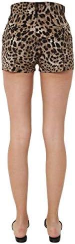 Dolce e Gabbana Fashion Woman FTBULTFSFJ0HY13M Beige Elastane Shorts | Spring Summer 20