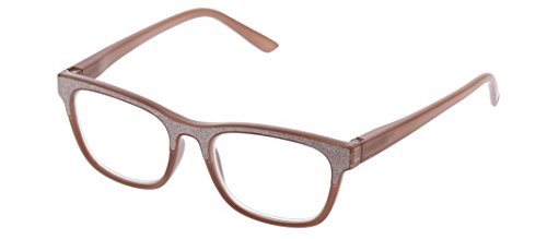 Peepers Women's Foxy Mama - Taupe 2506000 Square Reading Glasses, Taupe