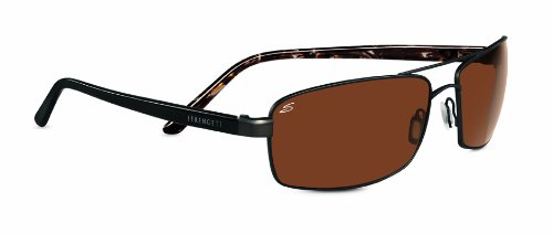 (Serengeti Limited Edition Volterra Sunglasses, Polarized Drivers Gold, Luster Gold Plating/Brown Marble )