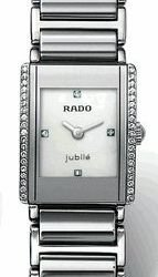 Rado R20430909 Integral Super Jubile Mini Ladies Watch - White Mother Of Pearl Dial