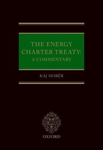 energy charter treaty - 1
