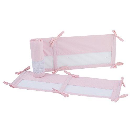 (NoJo Ballerina Bows 4 Piece Crib Liner, Pink)