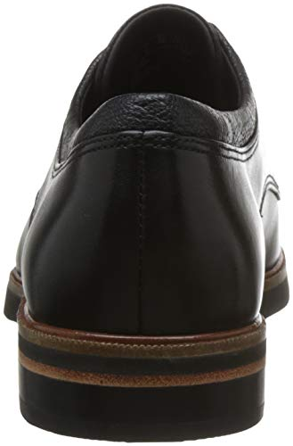 Black Zapatos Mujer Cordones Frida de Clarks Leather Derby para Negro fq8nT