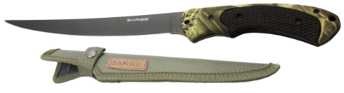 Sarge-Knives-SK-132-Camo-Fixed-Blade-Fillet-Knife-with-6-12-Inch-Stainless-Blade-and-Camo-Handle