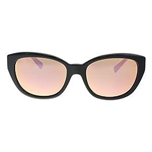 Versace Women's VE4343 Black/Light Brown Mirror Pink One Size