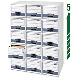 Bankers Box Stor/Drawer Steel Plus Storage Drawer, Letter Size(00311) -  Fellowes Mfg. Co., FEL00311