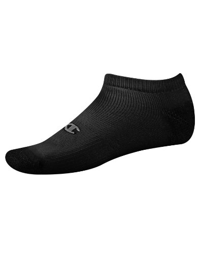 Champion Low Cut Socks - Champion Men`s Double Dry Performance Low-Cut Athletic Socks Black 10-13 6-Pack