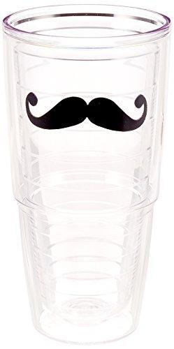 Tervis Connoisseur Mustache Tumbler, 24-Ounce - -