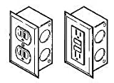 Labconco 4844401 Duplex Electrical Receptacle Kits, 115 Volts, 20 amps AC, GFCI