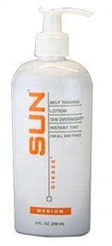 SUN LABORATORIES Self Tanning Lotion Tan Overnight - Medium (8 oz) by Sun Laboratories