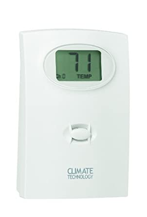 Supco 43758 Wireless Remote Sensor for Programmable Wall Thermostat