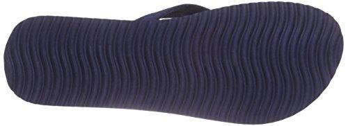 flip*flop Slim Tex - Sandalias de dedo Mujer Azul - Blau (032)
