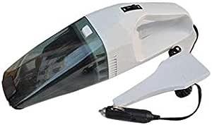 مكنسة كهربائية للسيارة لتنظيف السيارة تعمل في منفذ سجائر للسيارة بقوة 12 فولت، اسود