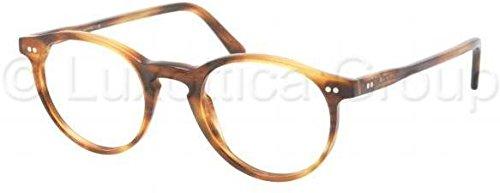 Polo PH2083 Eyeglass Frames 5007-4620 - Havana Striped