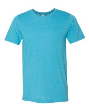 CN MEN GREENWICH FITTED TEE, HEATHER AQUA, XL (Wholesale Men Clothing)