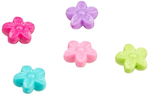 Clubhouse Crafts Bead Sample Pack 75/Pkg - Fancy Flowers ()