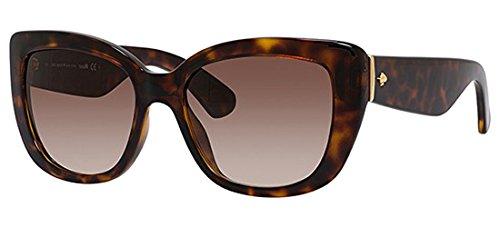 Kate Spade Plastic Frame Brown Lens Ladies Sunglasses ()