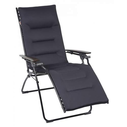 Lafuma Evolution Air Comfort Zero Gravity Chair, Black Steel...