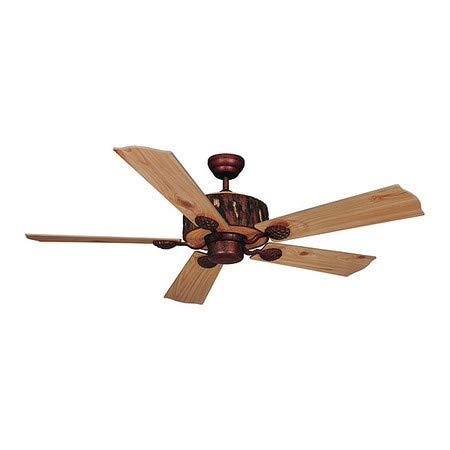 Log Cabin 52in Ceiling Fan Patina ()