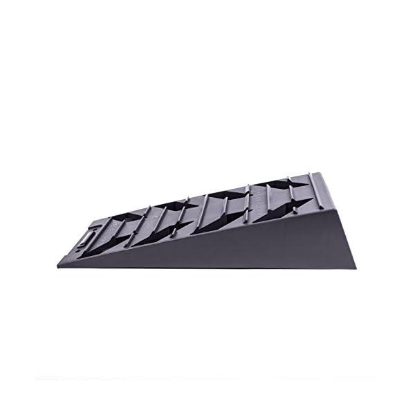 31X5wqzG2CL Fiamma Ausgleich, Auffahr-Keil 2er Set - bis 5000 kg, 40/43 x 17 x 9,5 cm für Wohnwagen oder Wohnmobil