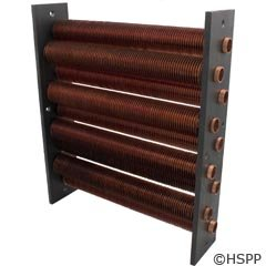 Pentair Heat Exchanger - Pentair 074452 Heat Exchanger Assembly Replacement MiniMax and PowerMax Pool/Spa Heater
