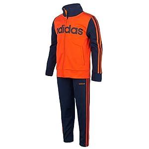 adidas Boys' Tricot Jacket & Pant Clothing Set