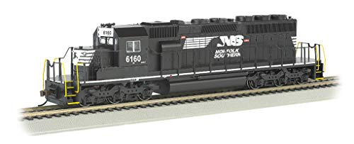 Bachmann Trains EMD SD40-2 Dcc Ready Diesel Locomotive Norfolk Southern #6160 (Thoroughbred) - HO Scale, Prototypical Black